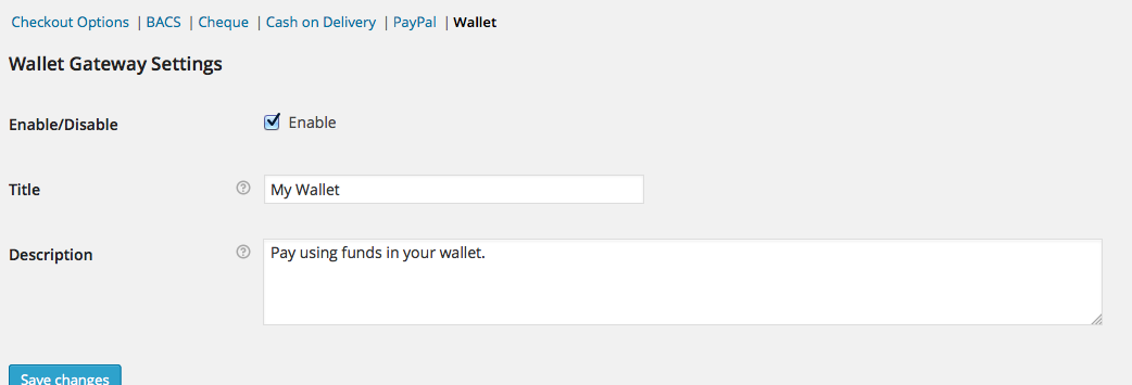 Wallet - Woocommerce Account Deposit & Payment 4